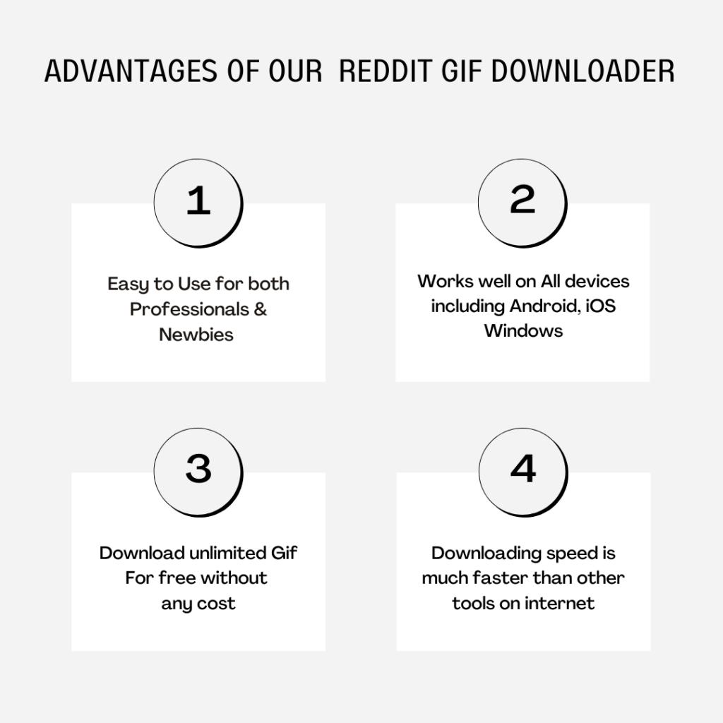 Benefits of Reddit Gif Downloader